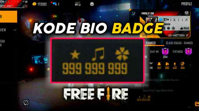 Kode-Bio-FF-Badge