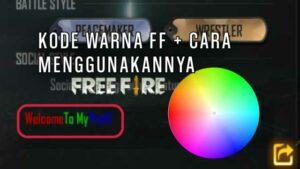 Kode-Bio-FF-Warna-Warni