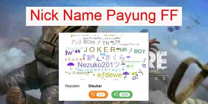 Nama-FF-Keren-Payung