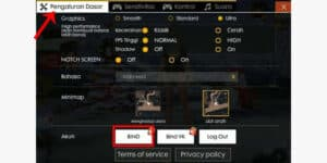 Pilih-menu-Basic-Setting-kemudian-tekan-tombol-BIND